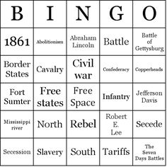 civil war word search | ... civil war occurred from 1861 to 1865 the american civil war was the