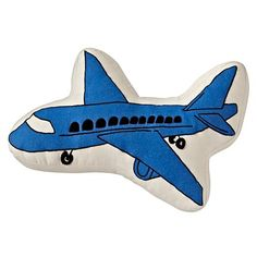 Airplane Throw Pillow  | The Land of Nod