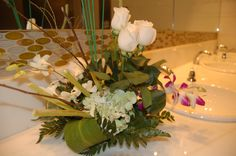 Decoración floral - Aseos Centro de Convenciones Megápolis