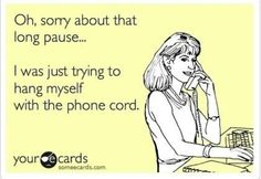 On hold with pharmacy!