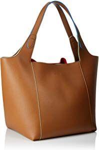 f03033da98 ARMANI EXCHANGE Shoulder Bag - Borse Tote Donna, Marrone (Cognac),  36.5x24x45