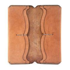 Cartera de cuero cartera de cuero hechos a mano larga por MannAndCo