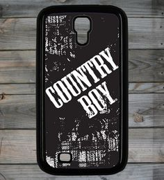 Country Boy ® Logo Galaxy S4 Phone Case/Cover  #Samsung #Galaxy #Smartphone #PhoneCase #CountryGirl