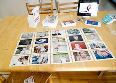 Ditch the flip-through album and put your snapshots and photos up on the wall — en masse