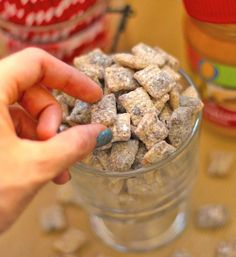 Guilt-Free Muddy Buddies... yes, Im serious. Only 5 ingredients and gluten free too! http://www.glutenfree-meals.com/