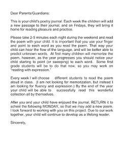 Just 4 Teachers: Sharing Across Borders: 1st Grade Poems/Treasures Weekly Poetry Schedule for 2010-11