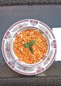 Pasta e Fagioli - 30-minute, one-pot, meatless meal - Cooking with Mamma C
