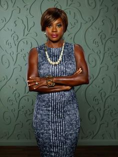 "Viola Davis as defense attorney and law professor Annalise Keating from ABCs ""How to Get Away With Murder""."