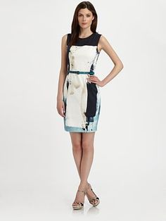 Elie Tahari  Emory Sheath Dress $398.00
