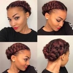 Natural Hairstyles for Medium Length Hair #Natural #Hairstyles