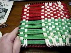 Weaving Loom - Potholder Part 2