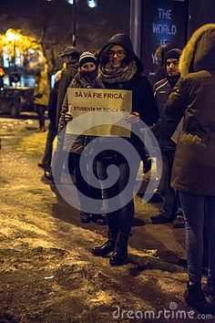 Sibiu, Romania. 25000 Romanians demonstrated against government decree decriminalizing some corruption offences.