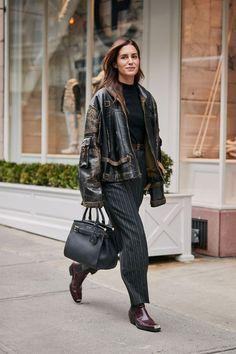New York Fashion Week Schuhtrends: Westernstiefel New York Street Style, Autumn Street Style, Fashion Advice, Fashion Outfits, Womens Fashion, Fashion Trends, Fashion Styles, Botas Western, Western Boots