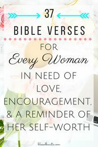 Prayers For Bible Verses for Every Woman in Need of Love, Encouragement, & a Reminder of Her Self-Worth - Blessed Beautie Bible Verses For Women, Bible Verses Quotes, Bible Scriptures, Quotes Quotes, Cover Quotes, Prayer Verses, Relationship Bible Verses, Wisdom Quotes, Catholic Bible Verses