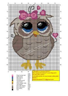 Owl x-stitch (JPEG-afbeelding, 1448 × 2048 pixels) Mermaid Cross Stitch, Cross Stitch Owl, Cross Stitch Animals, Cross Stitch Charts, Cross Stitching, Owl Crochet Patterns, Owl Patterns, Modern Cross Stitch Patterns, Cross Stitch Designs