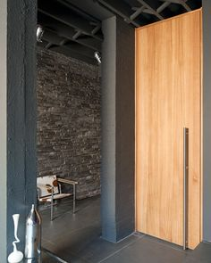 contemporary interior doors | long to floor door handle | Urban Front - Contemporary front doors UK | designs | raw v