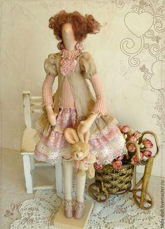 Купить Кукла Тильда: Роззи - тильда, кукла Тильда, куклы тильды, текстильная кукла ☆