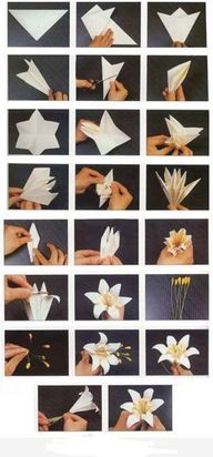 Paper Flower - http://craftideas.bitchinrants.com/paper-flower/
