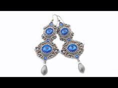 How to make diy bead jewellery Seed Bead Jewelry, Bead Jewellery, Seed Bead Earrings, Beaded Earrings, Beaded Jewelry, Wire Jewelry, Handmade Jewelry, Beaded Chocker, Diy Jewelry Inspiration