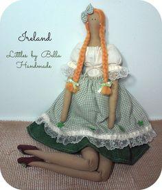 handmade doll Ireland doll internacional dolls by littlesbyBella ☆