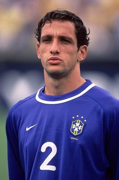 28 Mar 2001 Portrait of Belletti of Brazil prior to the FIFA 2002 World Cup Qualifier against Ecuador played at the Estadio Olimpico in Quito, Ecuador. Ecuador won the match 1 - 0.