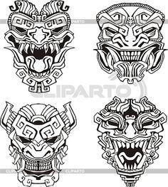 allwantsimg.com / ацтеки маски
