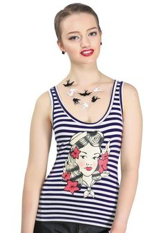 Sailor Girlie Top from Collectif
