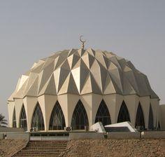 مسجد النيلين في أم درمان في السودان