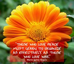 Martin Luther King Jr. quotes on war and peace, love and hate
