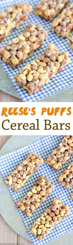 Reese's Puffs Cereal Bars - A Pumpkin And A Princess