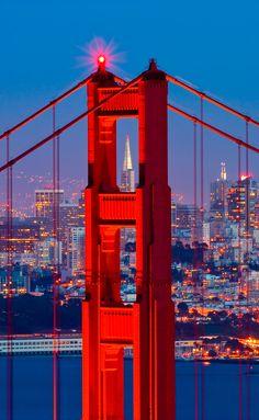 See the Golden Gate Bridge on your tour to #Alcatraz. Book Now http://www.getalcatrazticketsnow.com/  #SanFrancisco #SF #CA #Travel