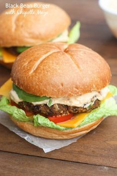 The BEST Black Bean Burger made with fresh ingredients and totally FOOL PROOF. Your entire family will love them!  | tastesbetterfromscratch.com