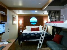 Choosing a stateroom on a Disney cruise