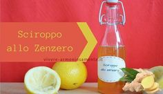 sciroppo-allo-zenzero-per-la-tosse Home Remedies, Natural Remedies, Natural Solutions, Natural Medicine, Diy Beauty, Natural Health, Helpful Hints, Detox, The Cure