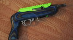 """""""LiveLeak.com - 3D printed semi-automatic pistol (Ruger Charger) test fire."""""""