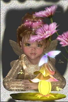 * Dívka a motýl