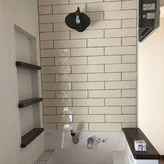 Bathroom/洗面台/ニッチ/タイル/ピアラ/リクシルの洗面台...などのインテリア実例 - 2017-12-29 07:36:28 | RoomClip (ルームクリップ)