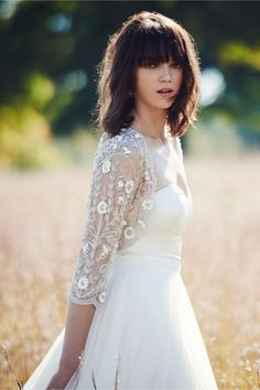 14 Winter Cover Up Ideas for Every Type of Bride via Brit + Co