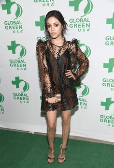 Actor Jenna Ortega attends the 14th Annual Global Green Pre Oscar Party at TAO Hollywood on February 22, 2017 in Los Angeles, California.