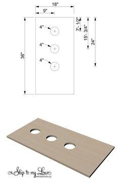 Washer Game DIY Plan Step 2