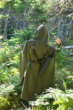 Archery Cloak for Rangers Elves Robin Hood by TheCenturiesChest, $120.00
