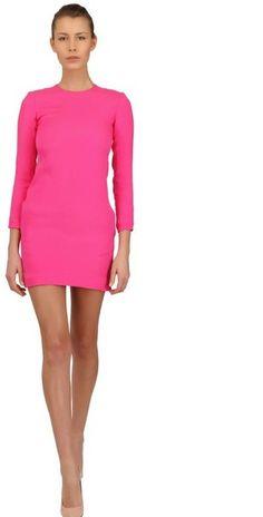 Celine Viscose Cady Dress - Lyst