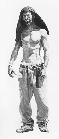 Joel Daniel Phillips's super scale portraits of marginalised characters redefine the concept of voyeurism...