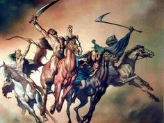 The Time of Tribulation is Near. 4Horsemen Apocalypse Biblical Prophecy ...    prophecy.foreverinchrist.org
