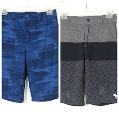Jordan Youth Boys Two 2 Piece T-Shirt Tee and Shorts Blue//Black Size L 12-13