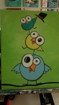 3 Funny Birds any age