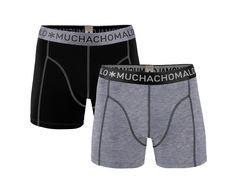 2-pack boxer shorts fra Muchachomalo. Helst i hele farger, ikke mønstret.