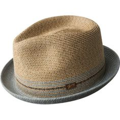 Men's Bailey of Hollywood Hooper Fedora - Natural Hats Ibiza, Mens Dress Hats, Gentleman Hat, Pork Pie Hat, Hat Stores, Stylish Hats, Hats Online, Cool Hats, Athletic Outfits