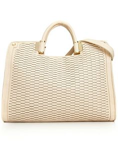 Ivanka Trump Handbag, Rose Top Handle Laser Cut Shopper - Handbags & Accessories - Macy's