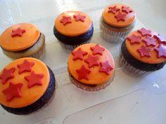 Cupcakes bolas de dragon